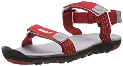 Sparx Mens Red Synthetic Sandals & Floaters (SS-414) - 9 UK