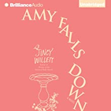 Amy Falls Down: A Novel (       UNABRIDGED) by Jincy Willett Narrated by Amy McFadden