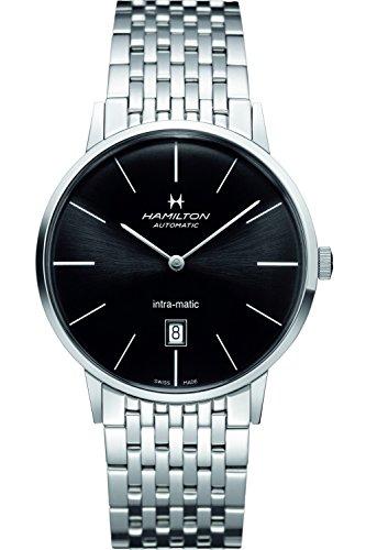 Hamilton H38755131 - Orologio da polso, cronografo al quarzo, acciaio inox