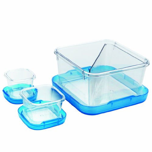 Oxo Good Grips 6-2/7-Cup Lock Top Lunch Set, Blue