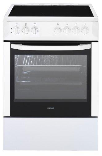 Beko CSE67101GW cuisinière - fours et cuisinières (Autonome, Blanc, Electrique, Electrique, 220 - 240 V, Convection, conventionnel, Grill, Microwave)