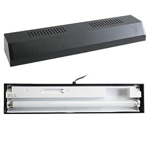 Perfecto Manufacturing APF28242 Marineland Fluorescent Replacement Strip Light for Aquarium, 24-Inch, Black