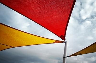 Sonnensegel   Dreieckig   3,6 m oder 5 m   10 Jahre Garantie   Sonnenschutz   UV-Schutz   Segel von OFF PRICE STORE auf Gartenmöbel von Du und Dein Garten