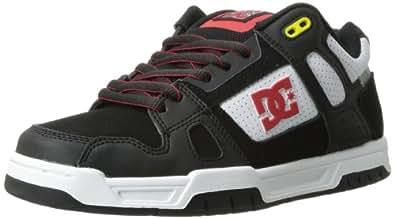 DC Shoes Stag Tp M Shoe Bwa, Chaussures de skateboard homme, Noir (Blk/Wht/Ath Red), 46