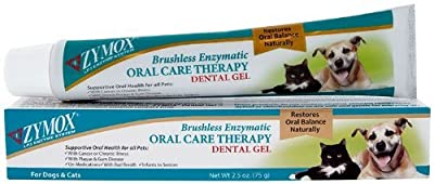 Zymox Oral Care Therapy Dental Gel For Dogs