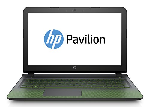 "HP Pavilion Gaming 15-ak112nl Notebook, Intel Core i7-6700HQ, RAM 8 GB, NVIDIA GeForce GTX 950M con 4 GB dedicati, HDD SATA da 1 TB, Display Full HD IPS a WLED da 15.6"", Nero"