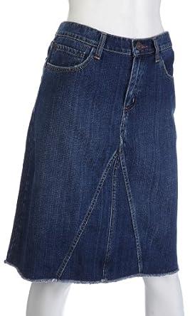 Earl Jeans A-Line Denim Skirt Blue best offers
