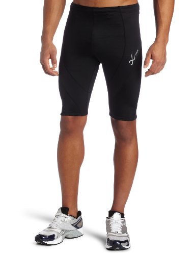 CW-X Men's Pro Shorts (Black, Large)