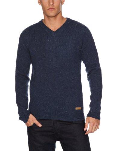 Selected Homme Jeans Oliver V-Neck Men's Jumper Insignia Blue X-Large