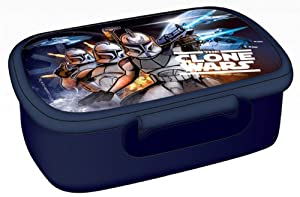 Star Wars Brotdose Snack POT Lunch box Clone Wars EDEL
