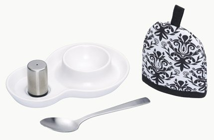 Kitchencraft Eggstatic Egg Serving Gift Set