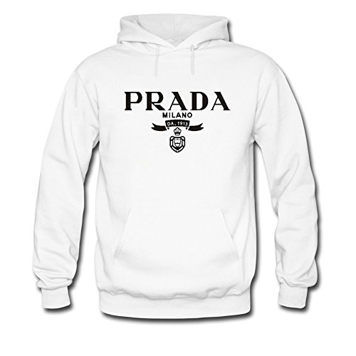 Prada Classic Logo Printed For Boys Girls Hoodies Sweatshirts Pullover Outlet