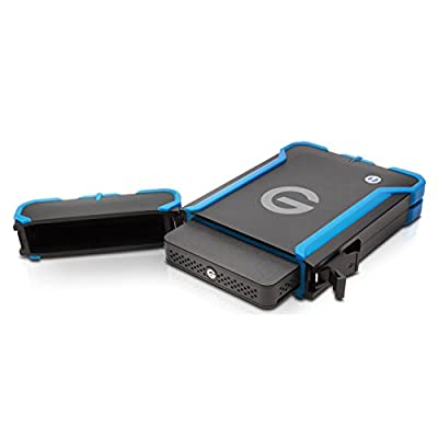 G-Technology G-DRIVE ev ATC with Thunderbolt Portable Hard Drive 1TB (0G03586)