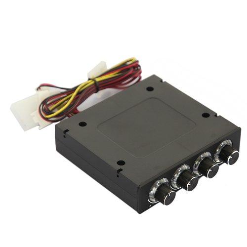 Db Dbpower Fan Controller Pc Mesh 4 Channel Adjustable Fan Speed Controller