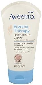 Aveeno Eczema Therapy Moisturizing Cream, 5 Ounce