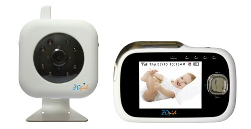 Zopid Digital High Quality Audio Video, Baby or Security Monitoring System with DVR and Motion Detection - 1