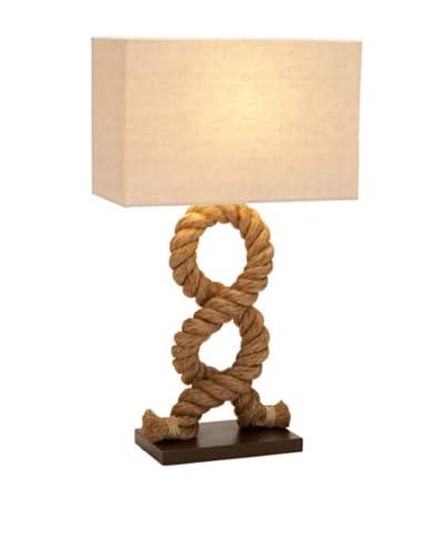 Rope Pier Lamp