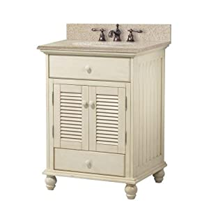foremost ctaabg2522d cottage 25 inch width x 22 inch depth vanity with