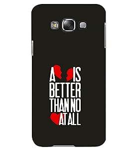 TOUCHNER (TN) Better Back Case Cover for Samsung Galaxy E7::Samsung Galaxy E7 E700F