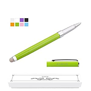 [New Upgraded Version] Kamor® Ultra-sensitive Stylus/Styli Touch Screen Cell phone Tablet Pen , Dual-Purpose with Micro-Knit Technology Capacitive Stylus with ball pen, work for Apple iPad, iPad 2, iPad 3, iPad 4, iPad air, iPad 5, iPad Mini, iPad Mini 2, iPhone 4, iPhone 4s, iPhone 5, iPhone 5C, iPhone 5S, iPhone 6, iPhone 6 Plus, Nexus 7 2012, Nexus 7 2013, Samsung Galaxy Tab 2 7/10, Samsung Galaxy Tab 3 7.0, 10, Samsung Galaxy Tab 4, Samsung Galaxy Note 2, 3, Samsung galaxy note 10.1 2014 ed