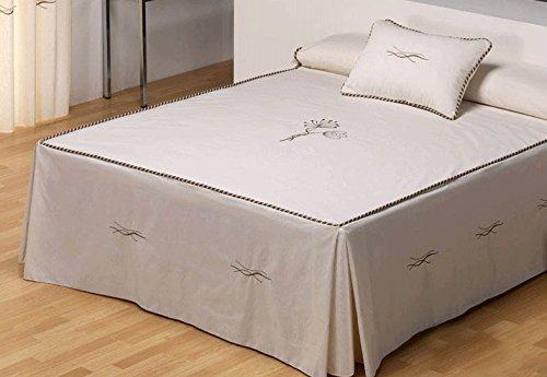 Colcha de verano Lyon para cama 105cm