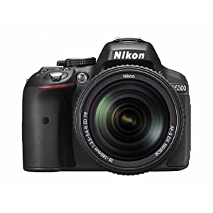 Nikon デジタル一眼レフカメラ D5300 2400万画素 3.2型液晶 D5300