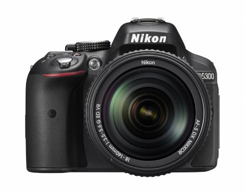 Nikon discount duty free Nikon Digital Single-lens Reflex Camera D5300 Double Zoom Kit Black 24 Million Pixel 3.2-inch Lcd D5300wzbk - International Version (No Warranty)