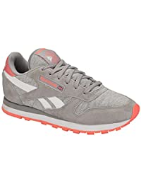 Reebok Women's Classic Seasonal Leather I Trainers US9.5 Grey