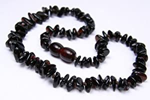Black Cherry Baltic Amber Necklace