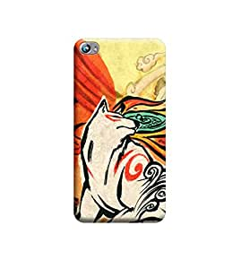 Ebby Premium Printed Back Case Cover With Full protection For Micromax Canvas Fire 4 A107 (Designer Case)