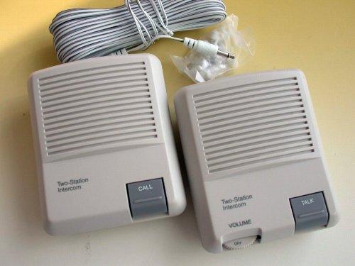 2 Station Wired Intercom System   Intercom Discount Intertalk Wc121 Wired Intercom System Gate Entry
