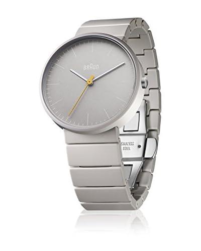 Braun Reloj de cuarzo BN0171GYGYG Gris