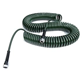 Water Right PCH-075-FG-4PKRS 75-Foot x 3/8-Inch Polyurethane Lead Safe Coil Garden Hose - Forest Green