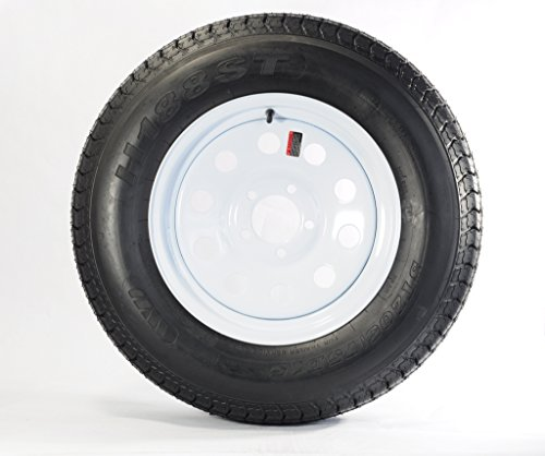 Eco Trailer Tire + Rim ST205/75D15 F78-15 205/75-15 15