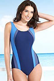 Bodyshaper Tummy Control Panelled Swimsuit