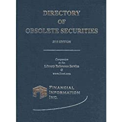Directory of Obsolete Securities 2010