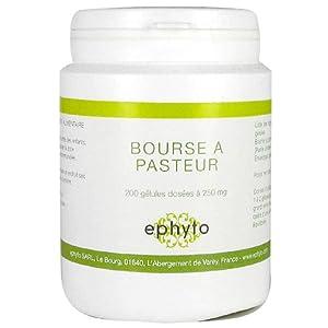 Ephyto - Bourse à pasteur - 200 gélules - Le régulateur sanguin