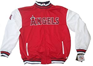 Los Angeles Angels of Anaheim MLB Dugout Jacket Adult Size X-Large Authentic &... by Stitches