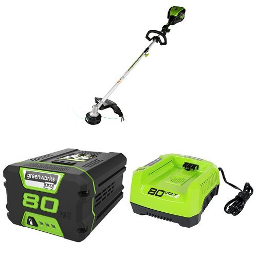 "Find Bargain GreenWorks Pro 80V 16"" String Trimmer w/ (1) 2Ah Battery & Charger"