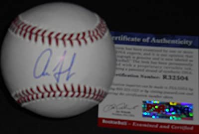 Aaron Judge New York Yankees Autographed Signed Baseball PSA DNA ROOKIE COA