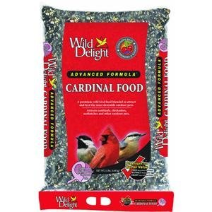 Wild Delight 376150 Cardinal Wild Bird Barrier Food Bag With Handle, 15-Pound