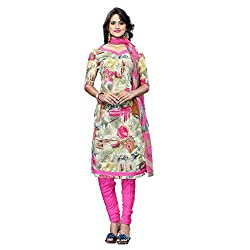 Triveni Women's Crape Salwar Kameez Dress Material (TSHCSSK6753C_Multi)