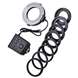Vktech Photography 60 LED Ring Light For Nikon Camera DSLR Nikon D3100 D7000 D5100 D80