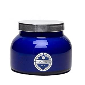 Aspen Bay Capri Blue Jar Candle 20 oz - Aloha Orchid