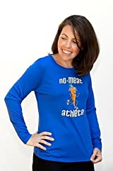 Women's Blue Long Sleeve Technical Shirt