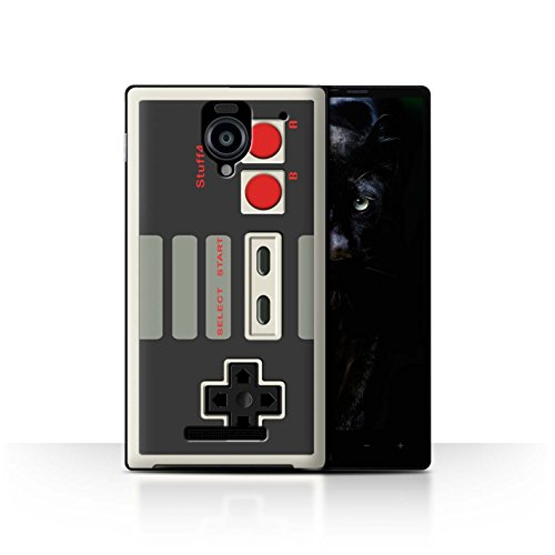 STUFF4 Phone Case / Cover for Sharp Aquos Xx 302SH / Nintendo Classic Design / Games Console Collection (Sharp Aquos Nintendo Case compare prices)