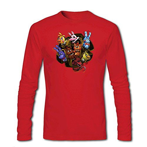 Five Nights At Freddy's Survivor For Mens Long Sleeves Outlet