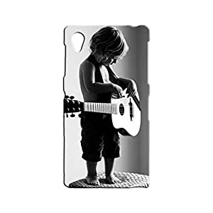 BLUEDIO Designer 3D Printed Back case cover for Sony Xperia Z1 - G1802