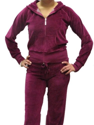 Womens Velour Tracksuits Ladies Lounge Suits