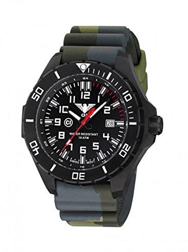 KHS Tactical orologio uomo Landleader Black Steel KHS.LANBS.DC3
